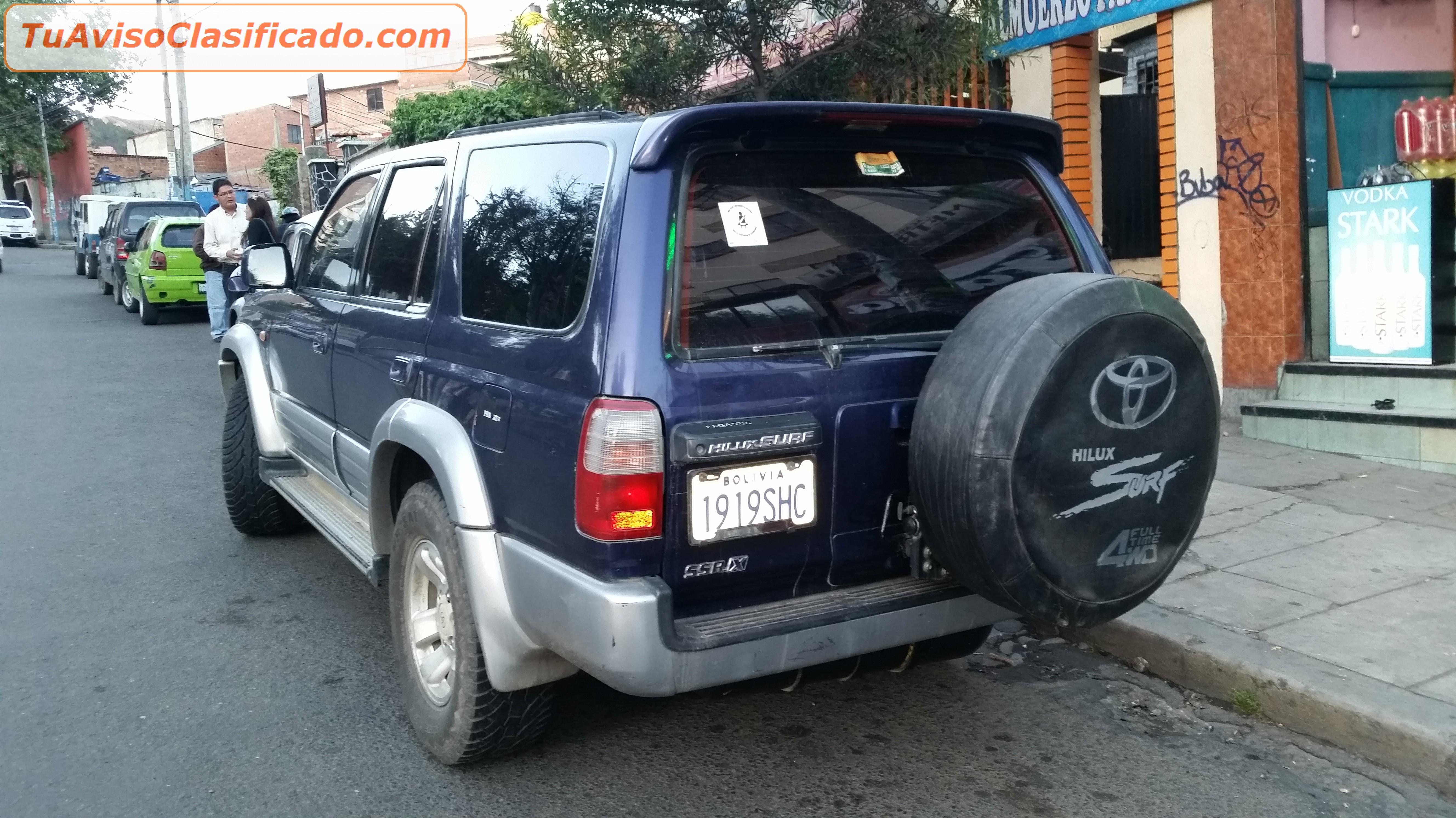 Auto Usado Toyota En Paraguay Camionetas   Autos Post