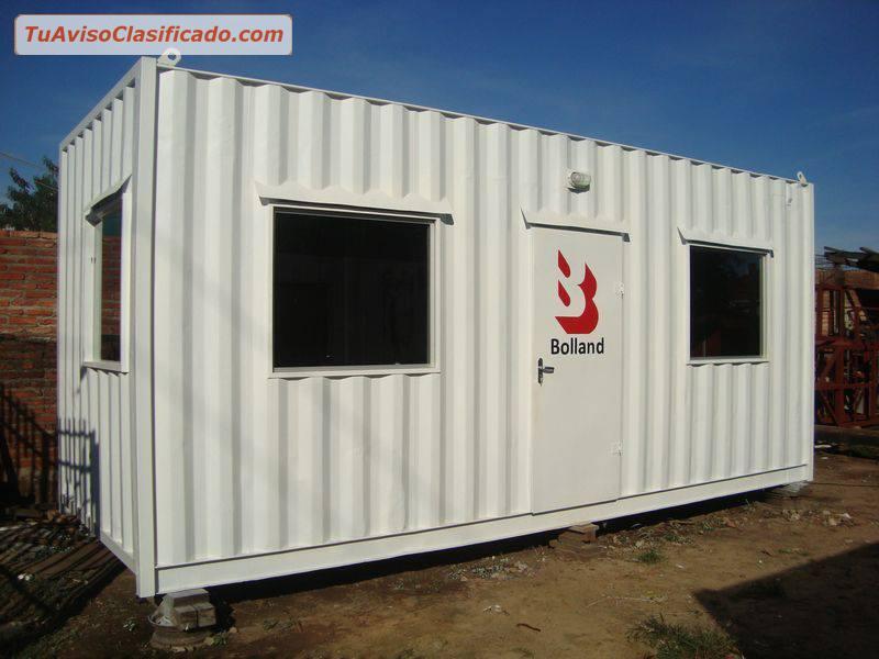 Venta alquiler de contenedores oficinas moviles casetas for Contenedores de oficina