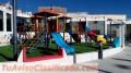 Fabricación de juegos y parques infantiles y juveniles con modelos nuevos innovadores