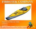 Botes a pedal, Kayaks, Canoas y Yates deportivos fabricados en Bolivia con fibra de vidrio