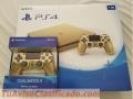 Venta ORO Sony PS4 slim ORO 1TB console con 4 mas juegos $180 dolares