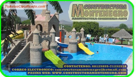 Dise o y construccion de piscinas tipo playa o de arena for Diseno y construccion de piscinas de hormigon