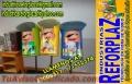 PELOTEROS  EN  FIBRA  DE  VIDRIO-   EXTERIOR  E  INTERIOS   LAS  INSTALCIONES     BOLIVIA