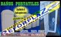 VENTA  DE   BAÑOS  PORTATILES  EN FIBRA D E VIDRIO -  BOLIVIA