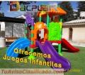 DACPLAR Ofrecemos una gran gama de equipamiento para parques infantiles