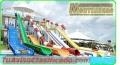 Piscinas y mega parques infantiles