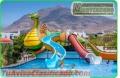Fabricacion para parques acuaticos juegos dentro el agua
