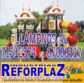 """INDUSTRIA DE REFORPLAZ SRL """"Especialistas en Diseño y Construcción de Parques Infantiles"""""""
