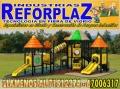 """""""Especialistas en Diseño y Construcción de Parques Infantiles"""" INDUSTRIA DE REFORPLAZ SRL"""