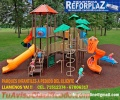 Realizamos Producción de Parques Infantiles y Toboganes Al gusto del Cliente