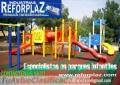 Parques Infantiles y Toboganes Expertos en la Fabricación en Fibra de Vidrio