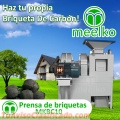 PRENSA DE BRIQUETAS MEELKO MKBC10