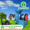 PRENSA DE BRIQUETAS MEELKO MKBC02