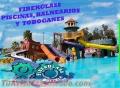 Construimos piscinas, balnearios, parques infantiles, toboganes somos FIBERGLASS BOLIVIA