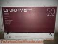 "Televisor (TV) LG de 50"" Modelo 50UK63 4K Ultra HD/4K Active HDR"