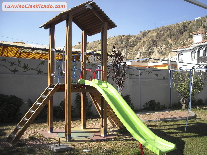 parques infantiles para nios en madera y metal brincoo