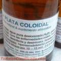AG+ Plata Colouidal 15ppm - antibiótico natural